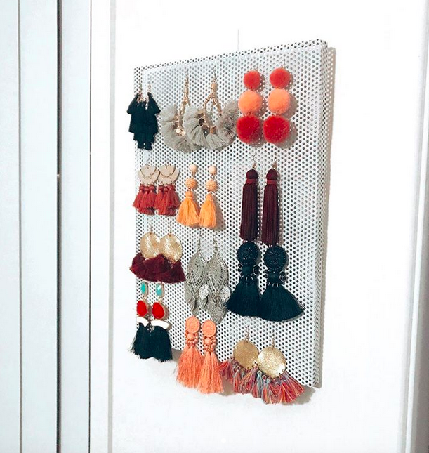 Kmart earring holder
