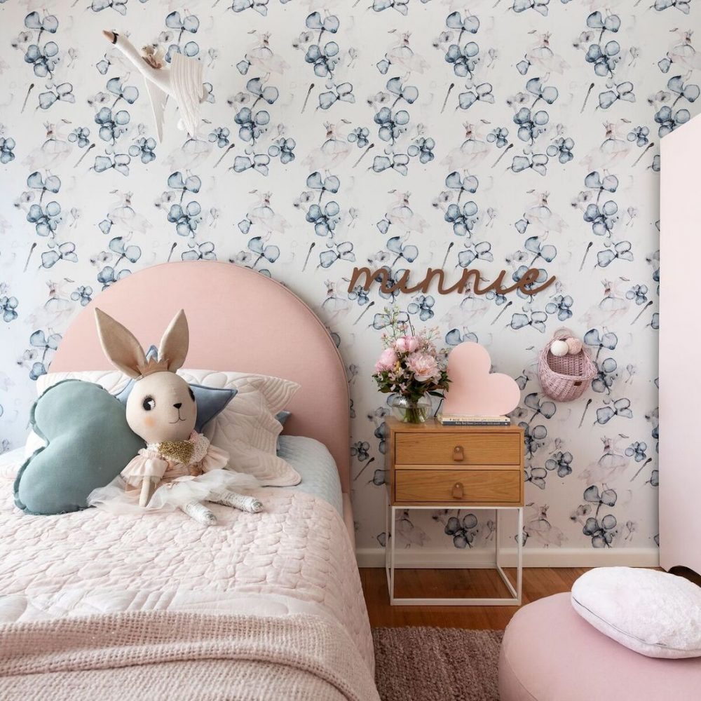 Minnie bed and bedside