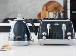 Betta kettle and toaster front on