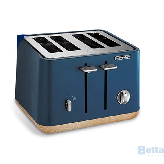 Deep blue toaster
