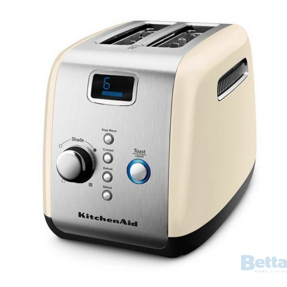 KitchenAid almond cream toaster