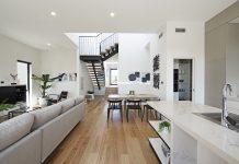Elevated Living split level design