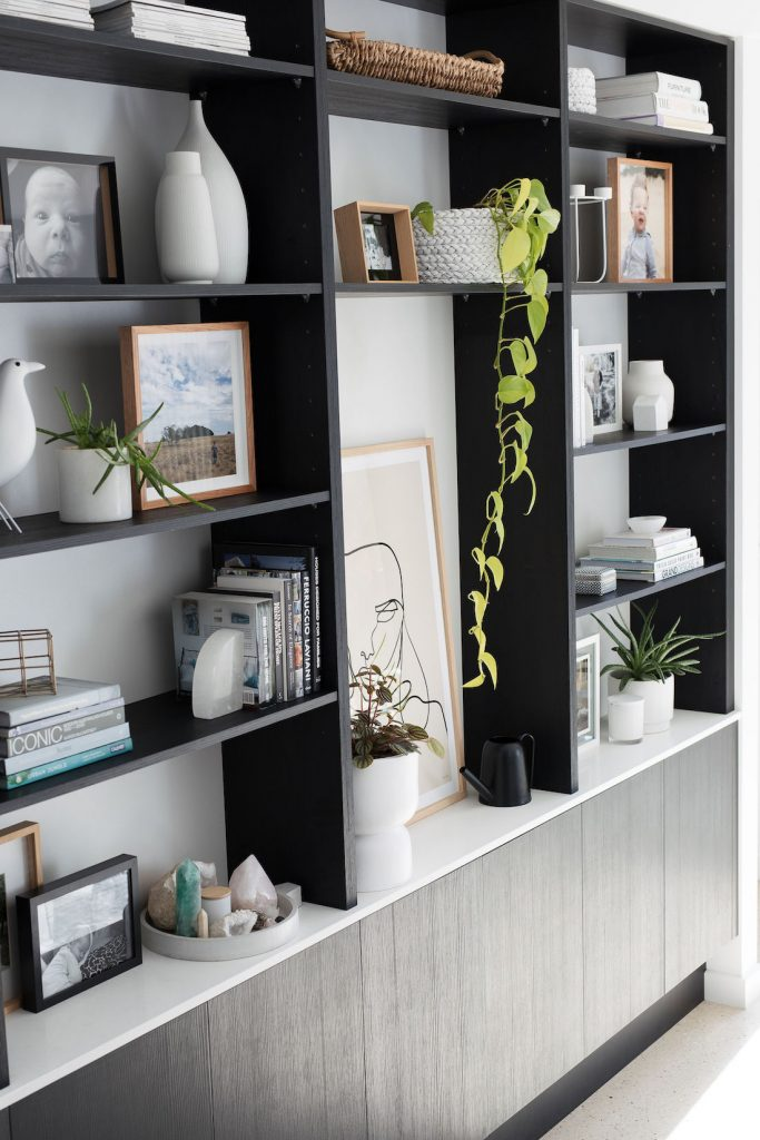 Bookshelf styling update your living room for less