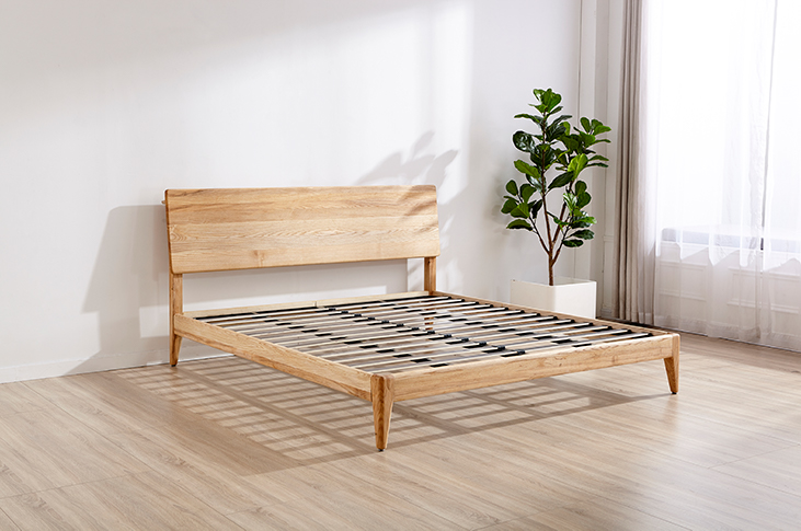 Ecosa bed base solid timber furniture vs timber veneer