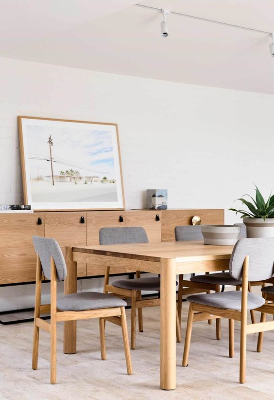 Solid timber dining furniture