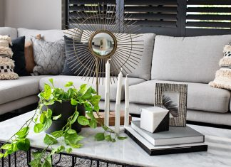 Wanderlust coffee table styling