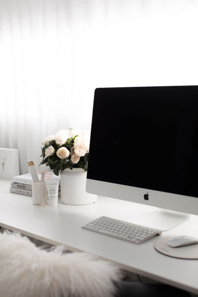 Create a home office things to do at home to keep busy