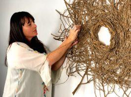 Catriona Pollard_You Are My Sunshine_woven wall art piece