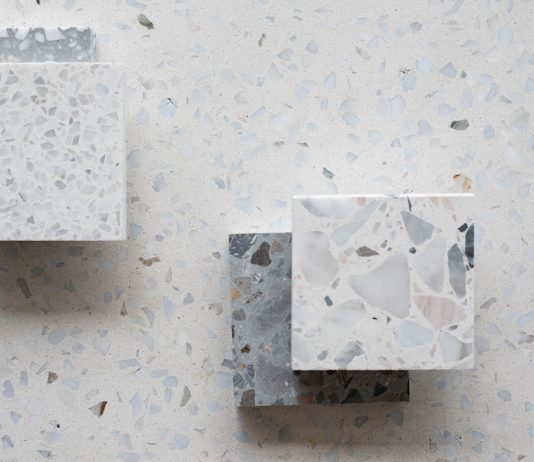Different types of terrazzo