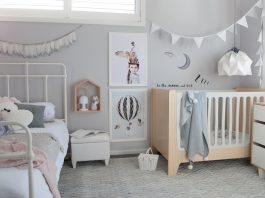 Girl and boy bedroom styling