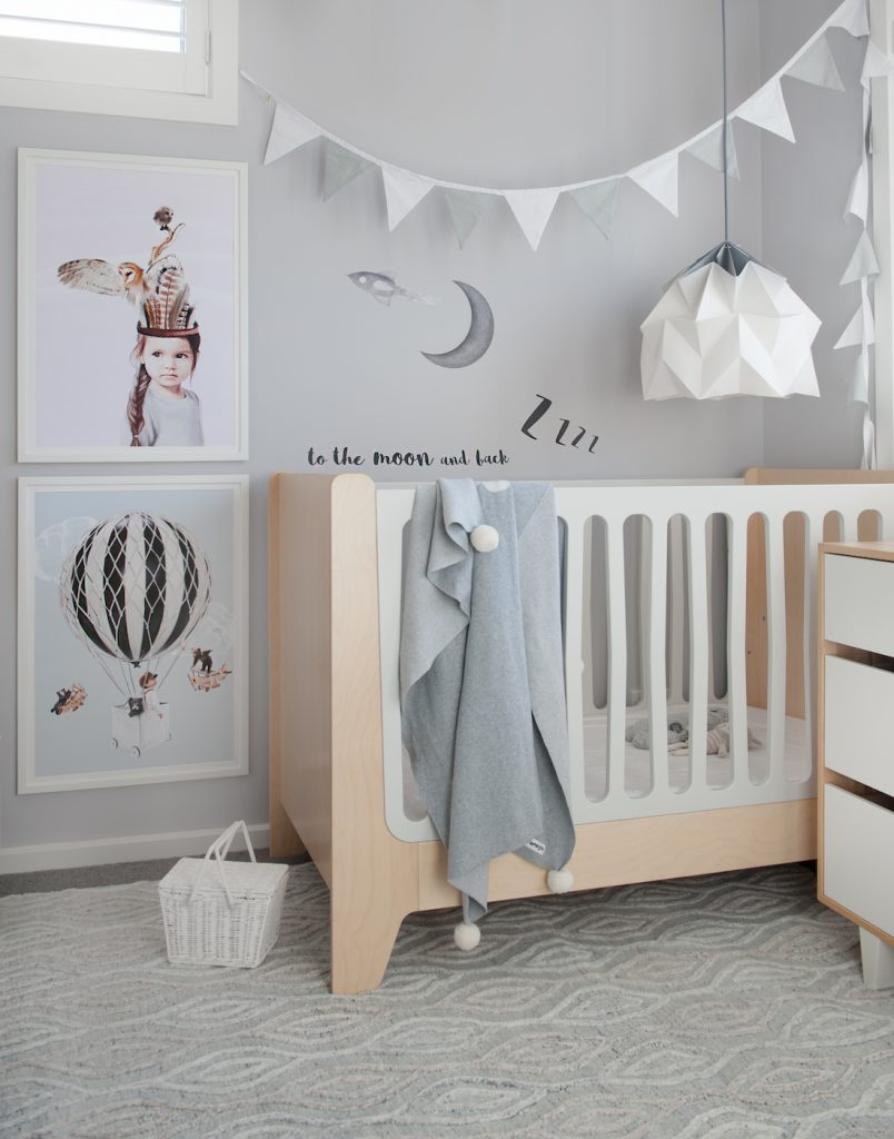 Nursery styling_neutral coloured nursery