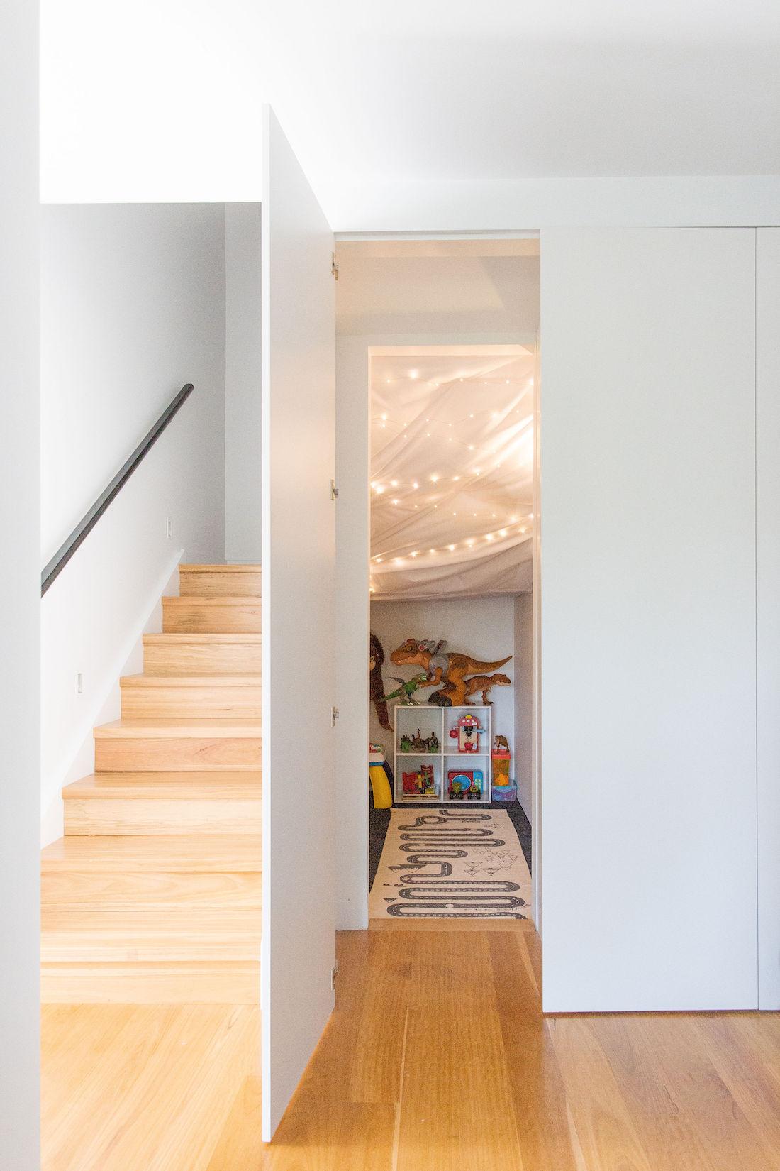 Under stair cubby