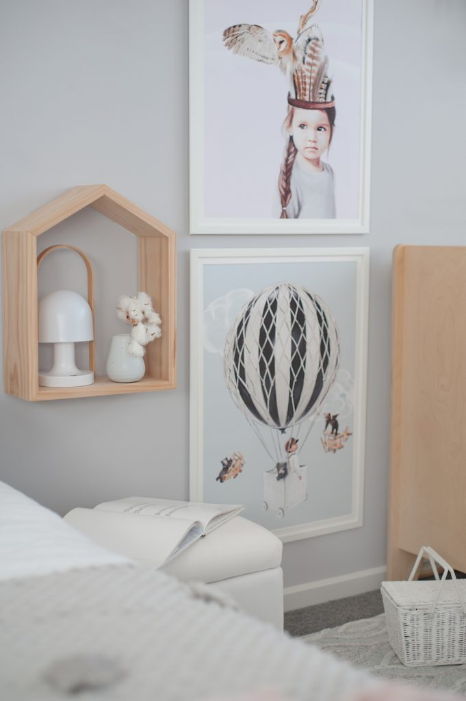 Young children's gender neutral bedroom shared children's bedroom