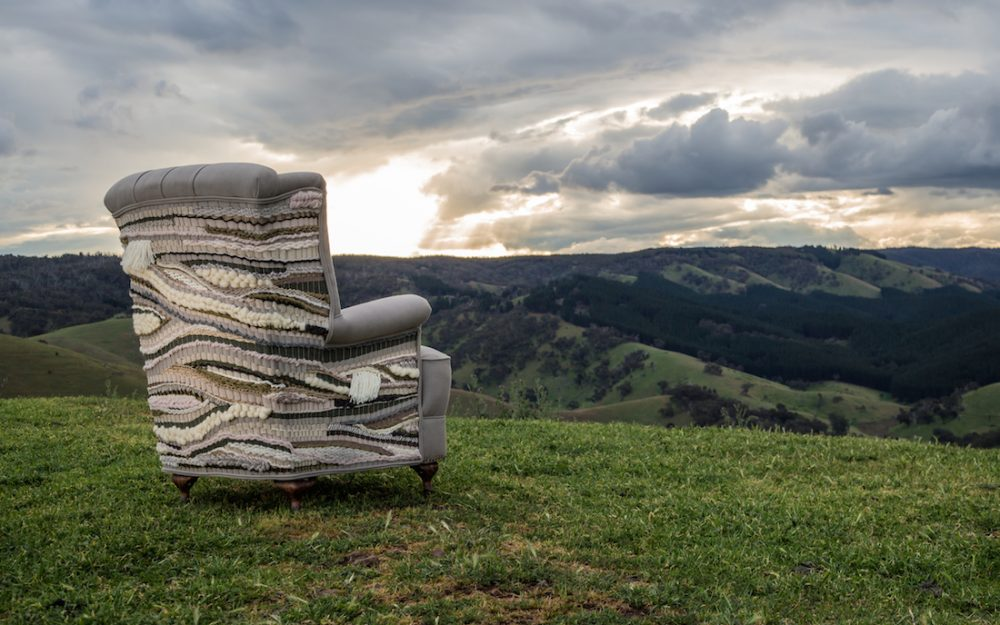Antiquate Valerie chair custom upholstery