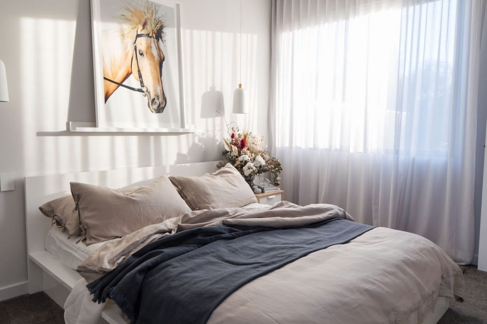 Dreamy bedroom makeover
