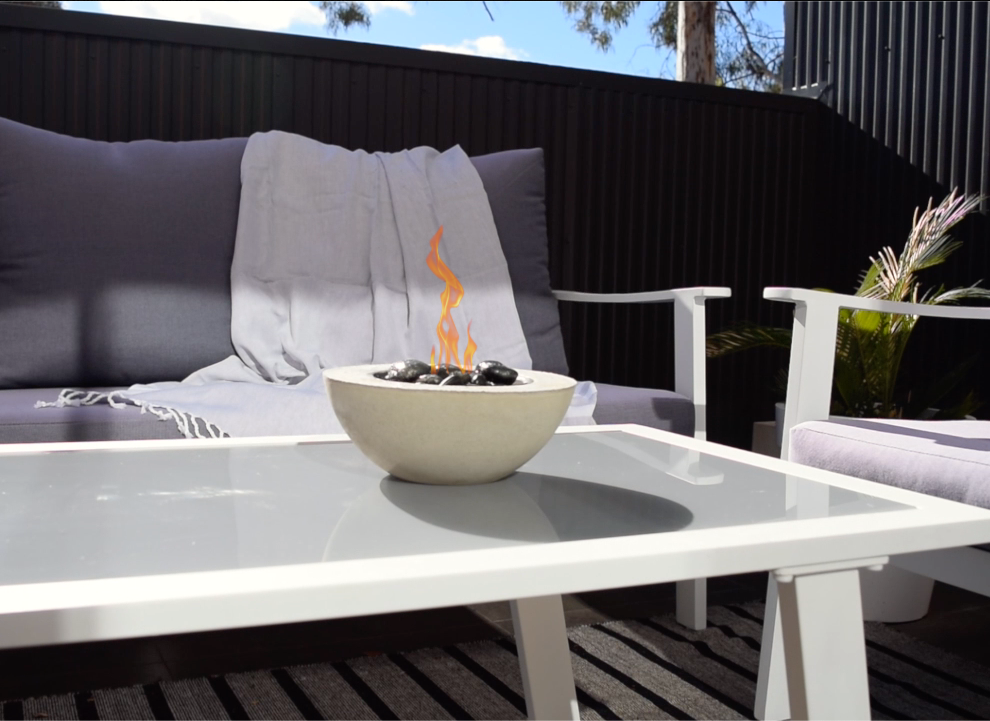 Make your own mini fire bowl fire pit