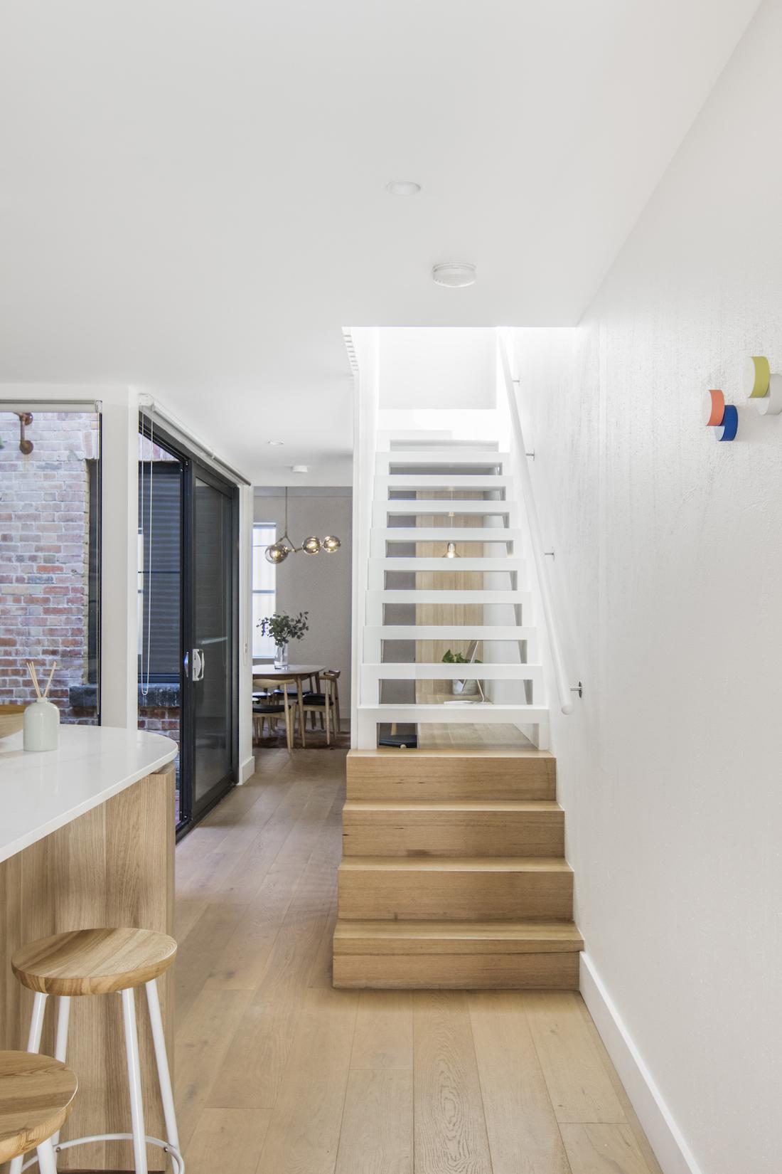 Open trade staircase
