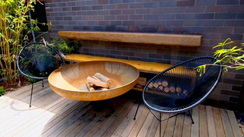 Outdoor fire pit_Sutton and Horsley design indoor outdoor living
