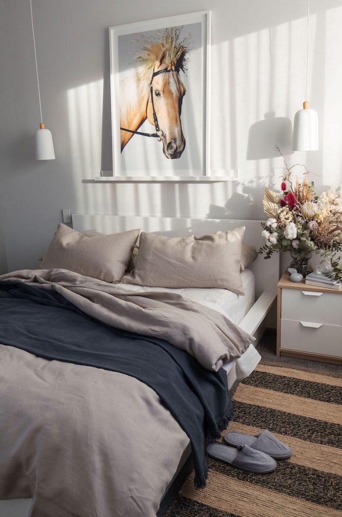Relaxed luxe bedroom