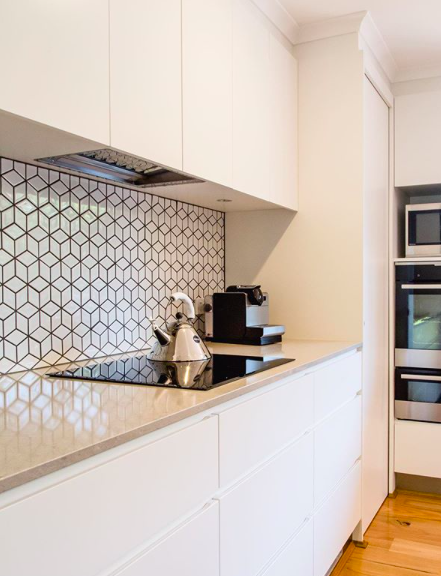 White mosaic kitchen splash back pick the right kitchen splashback tile