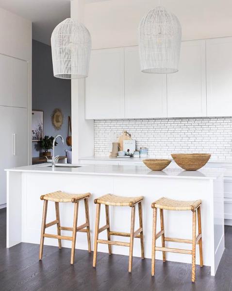 Offset stack mosaic kitchen splash back right kitchen splashback tile