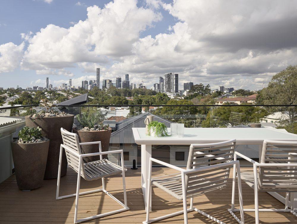 Viewing platform deck Brisbane city