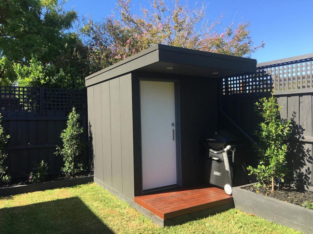 DIY shed completed