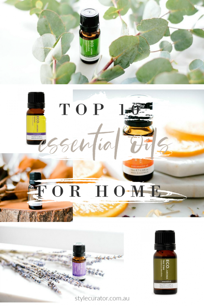 Top 10 essential oils for the home