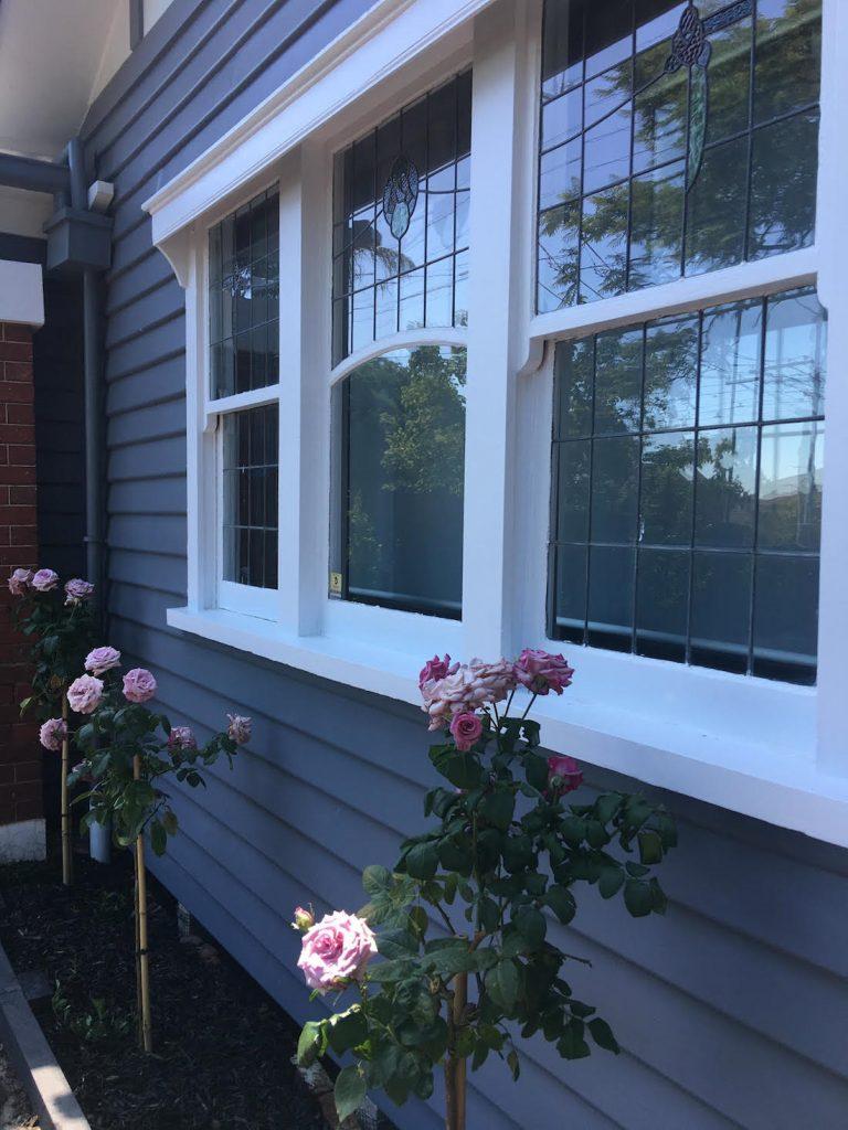 Home makeover exterior California bungalow