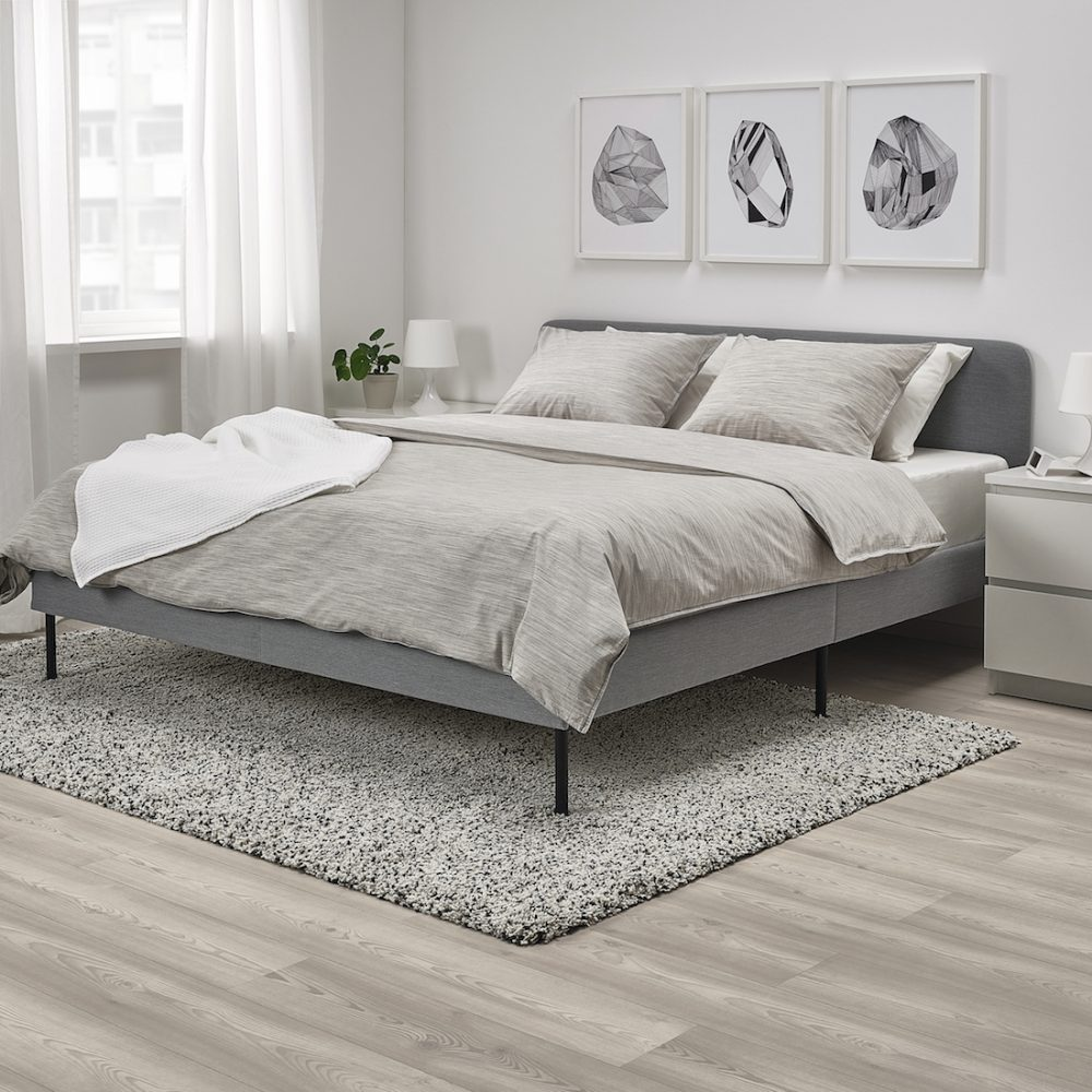 SLATTUM queen bed IKEA 2020 release