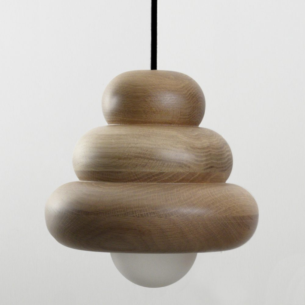 Torus wooden light YOS Studio