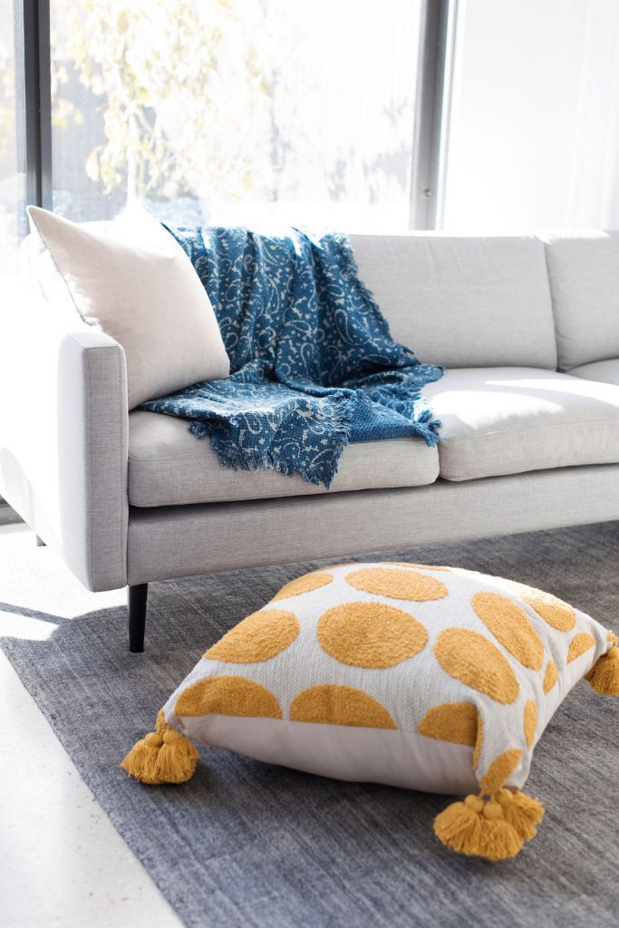 Throw blanket over sofa products to style your home