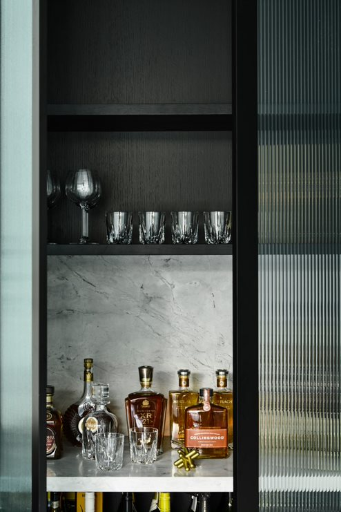 Drinks cabinet in Biasol home