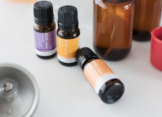 ECO essential oils for a non-toxic home