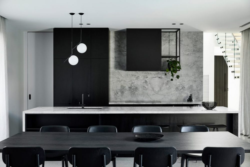 Grey marble kitchen wall_Biasol