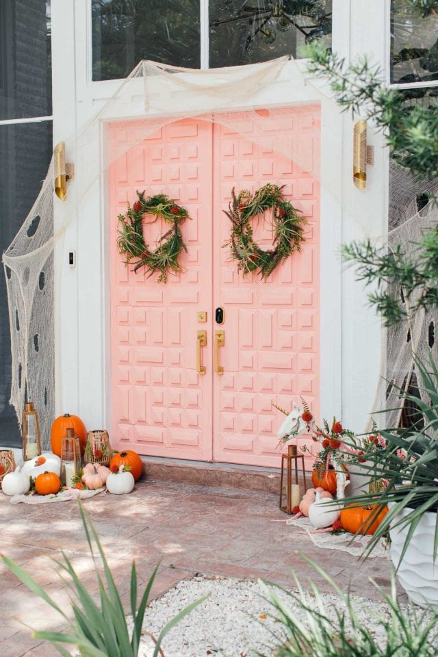 Quirky Halloween home styling
