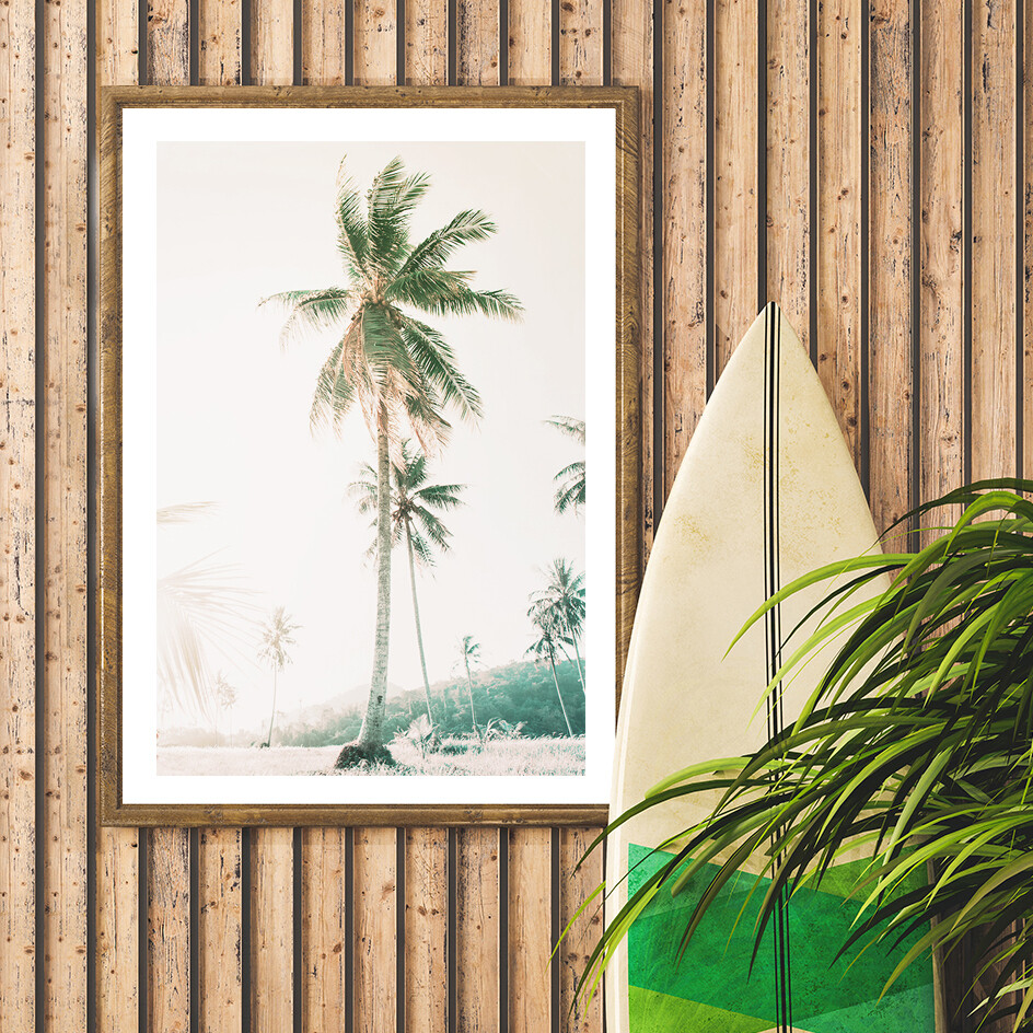 Tropical Sunrise_beach print