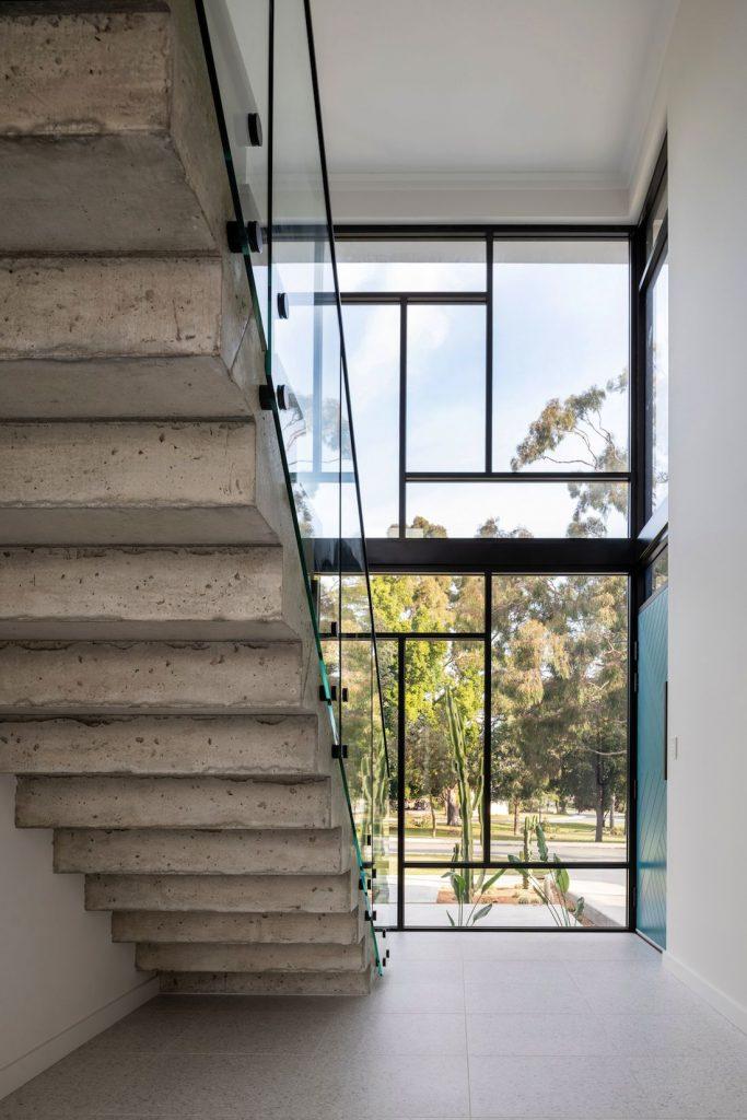 Coolbinia home_concrete staircase