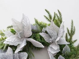 Custom Christmas wreath