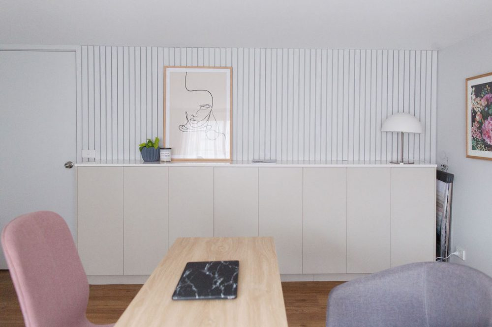 DIY panel wall