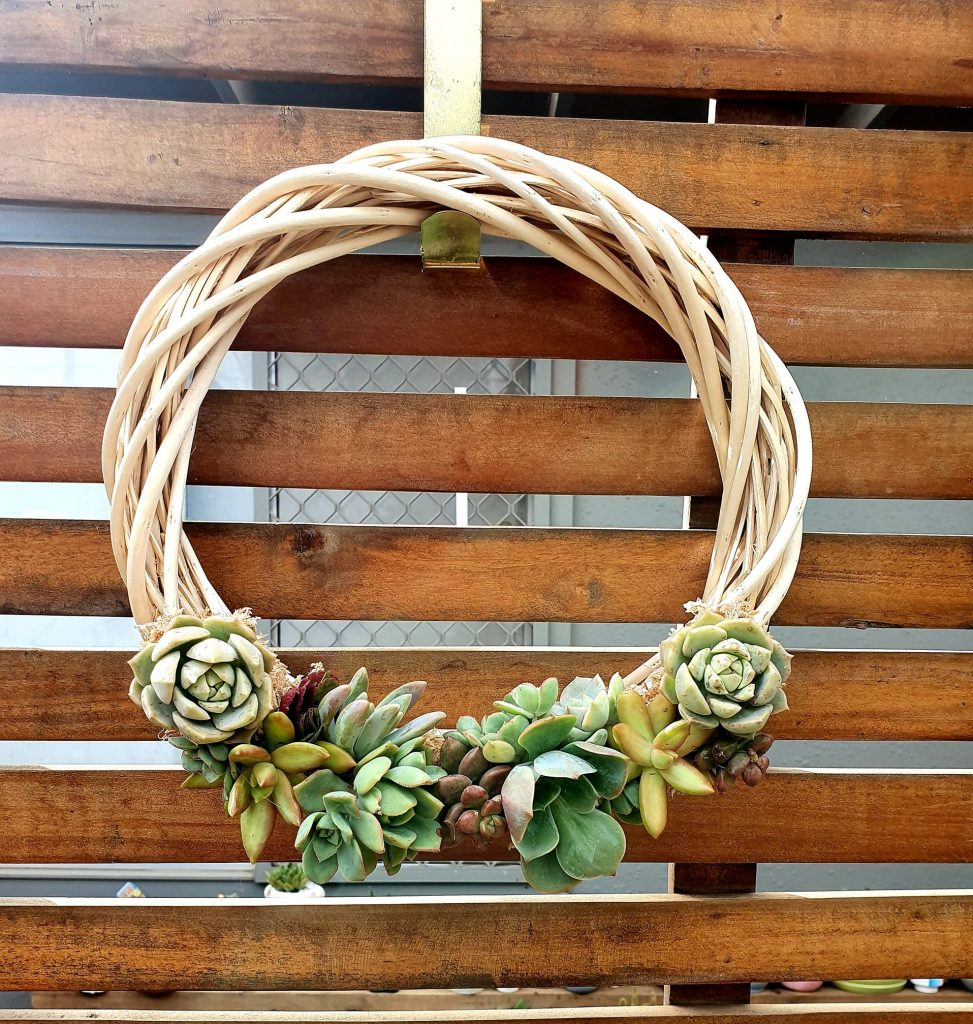 Kmart hack wreath