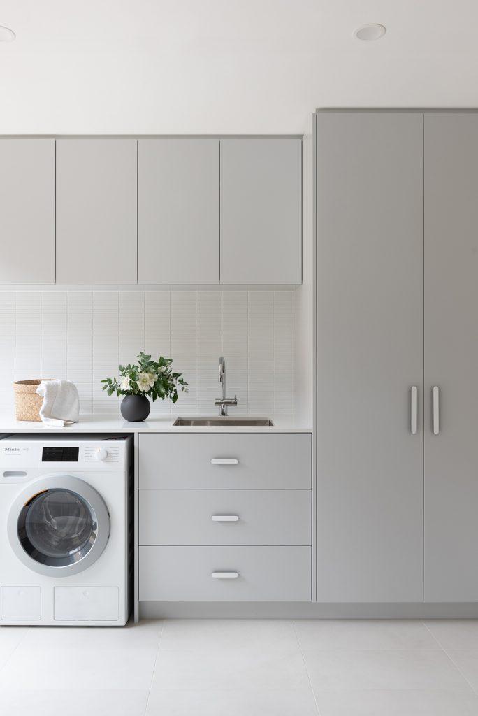 Laundry renovation project by Jane Ledger