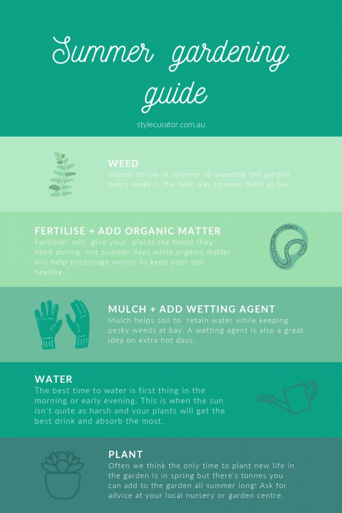Summer gardening guide