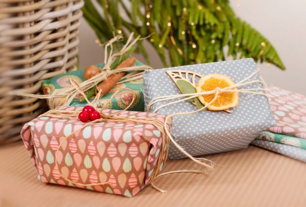 Beeswax gift wrap
