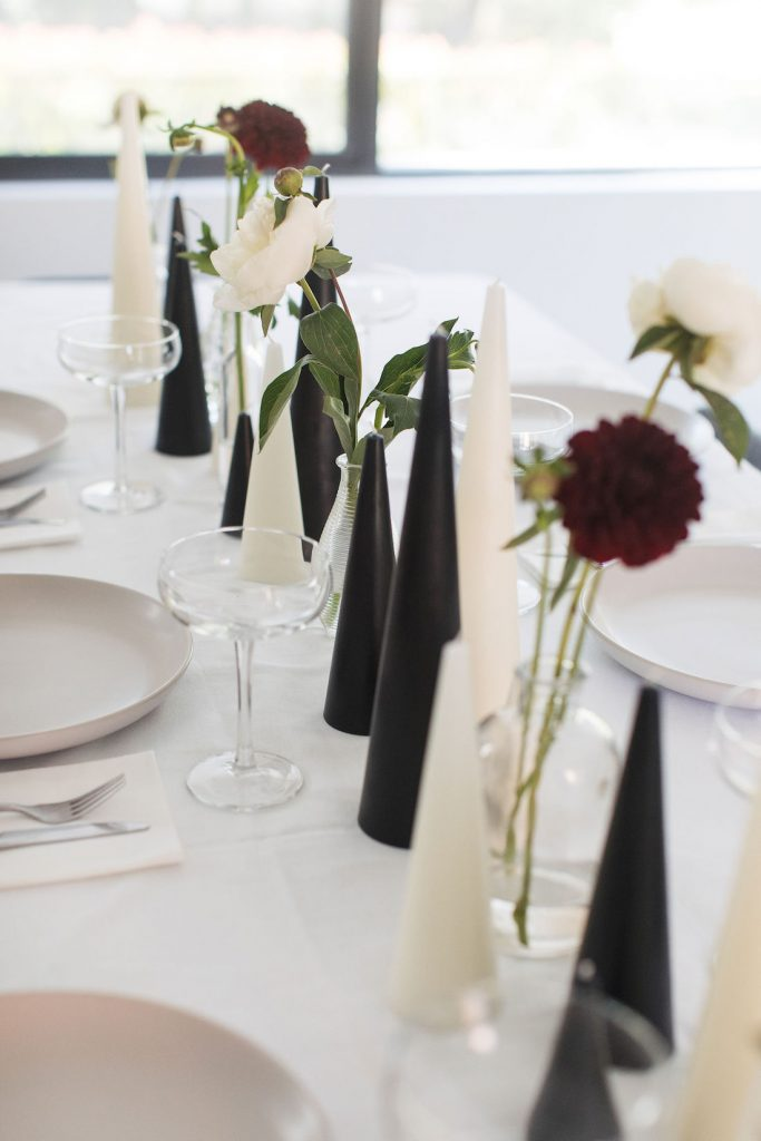 Deconstructed table setting