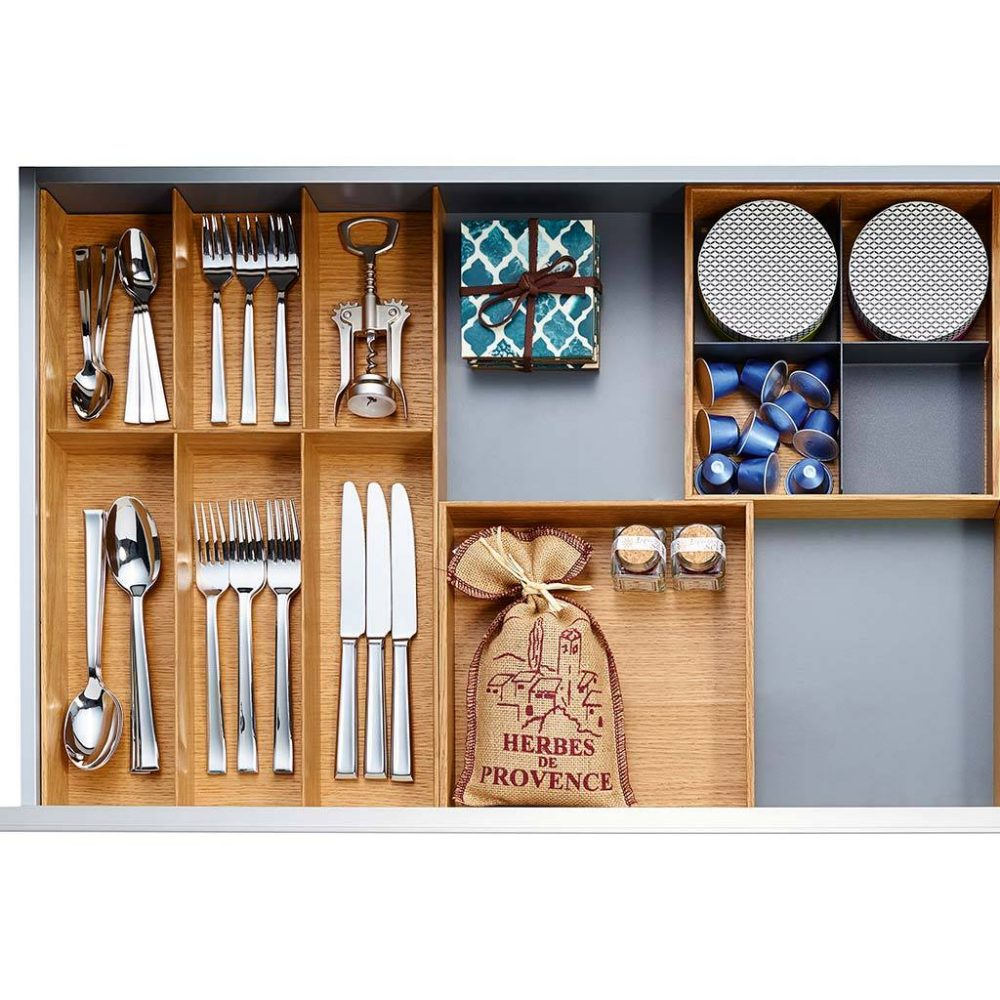 Drawer inserts kitchen upgrades on a budget