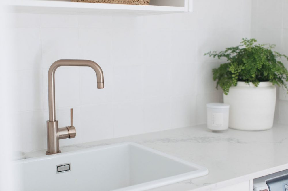 Erskineville laundry_sink and brass tap