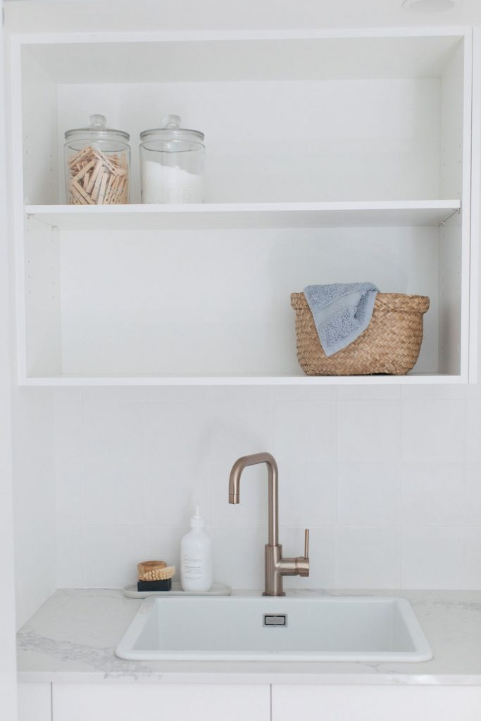 Erskineville laundry_sink and storage