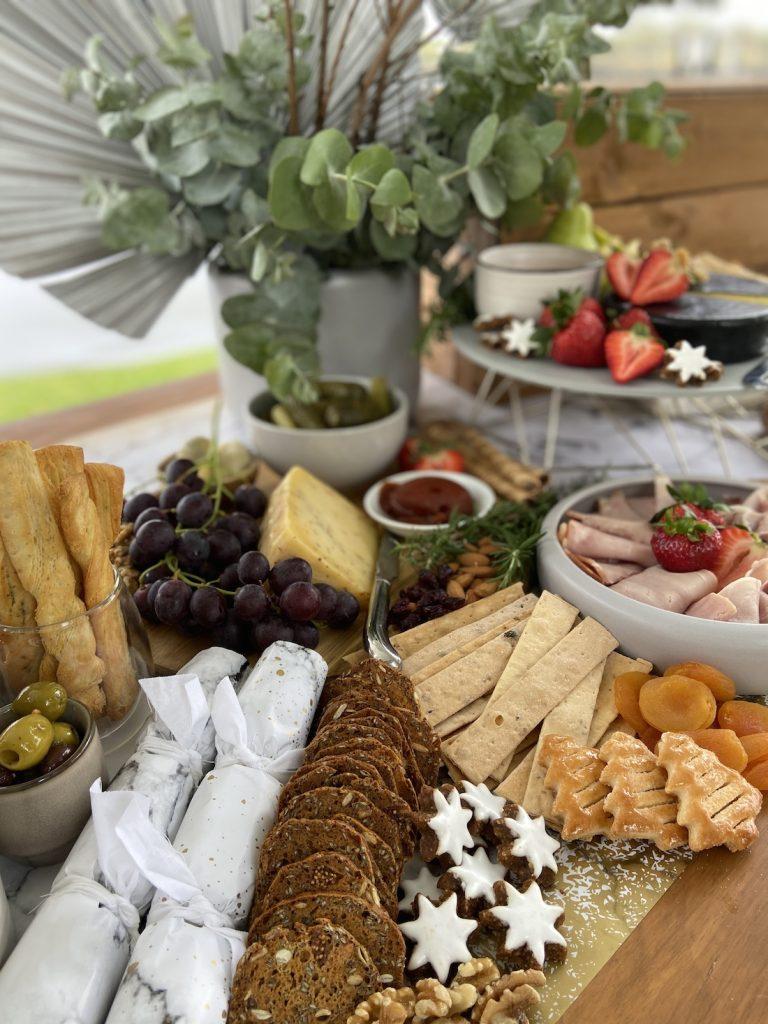 Grazing table by Ella Garland