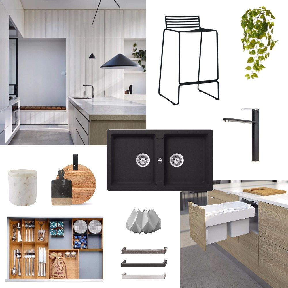 Kitchen inspiration moodboard